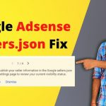 Google Adsense Seller.json क्या है। Fix Issue
