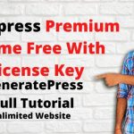 GeneratePress WordPress fastest theme with key